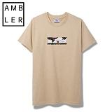 [엠블러]AMBLER 신상 반팔티셔츠 AS309-베이지
