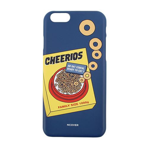 [앤커버] NCOVER - Cereal-blue Iphone case_핸드폰케이스 아이폰케이스