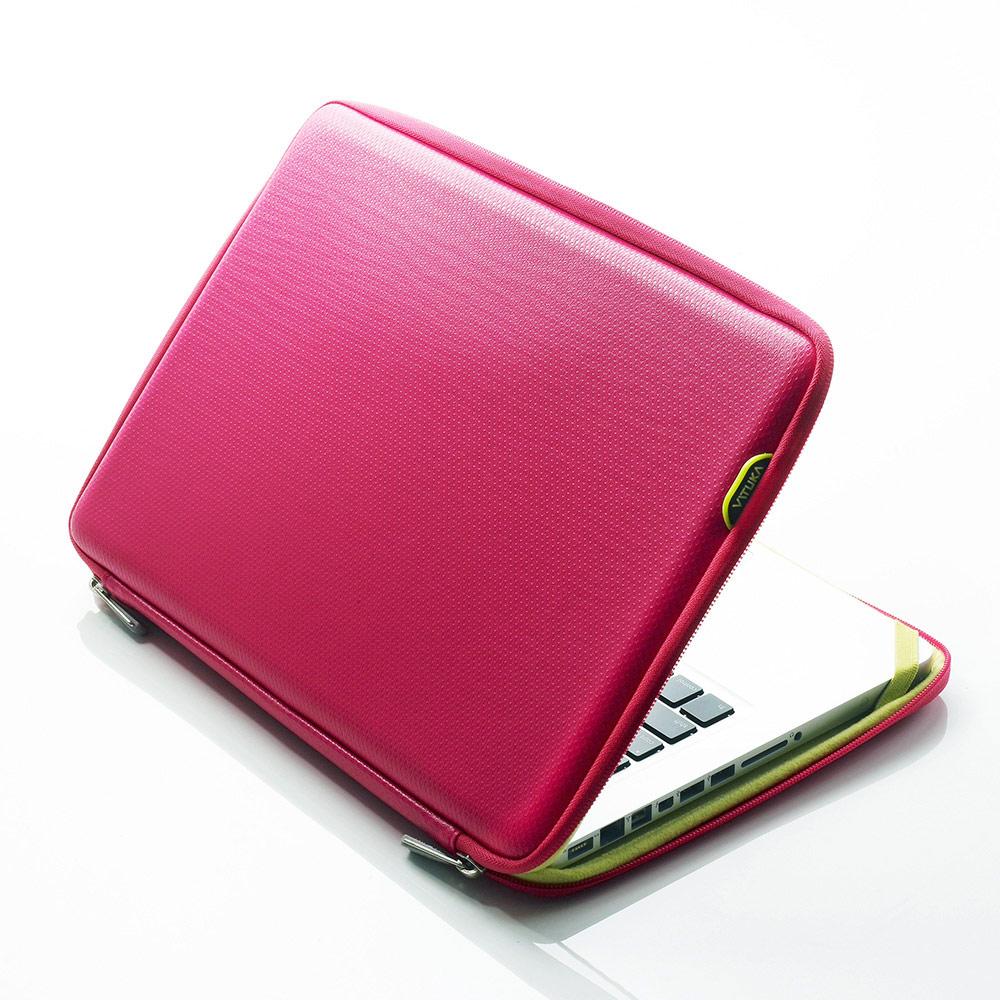 [바투카]VATUKA - 3D큐브 LG 그램 15.6 [15ZD90N/15Z990] 전용 노트북 파우치 15.6인치 - HOT PINK