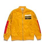 [블랙스케일]BLACK SCALE Workmens Flight Jacket (YELLOW) 워크맨즈 플라이트 항공 재킷 자켓