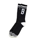 [블랙스케일]BLACK SCALE B Logo Penta Socks (Black) B 로고 펜타 삭스 양말