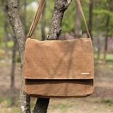 [모노노] MONONO - Wax Canvas Mail Bag - Camel 크로스 왁스캔버스 크로스백 가방 메일백