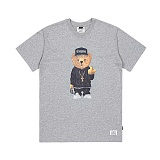STIGMA - COMPTON BEAR T-SHIRTS GREY 반팔티셔츠 라운드넥