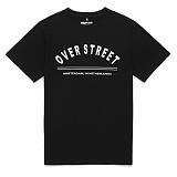 [라지크] RAZK - OVER ST T-SHIRT (BLACK) 반팔 반팔티 티셔츠