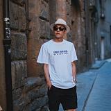 [라지크] RAZK - DESIGN T-SHIRT (WHITE) 반팔 반팔티 티셔츠
