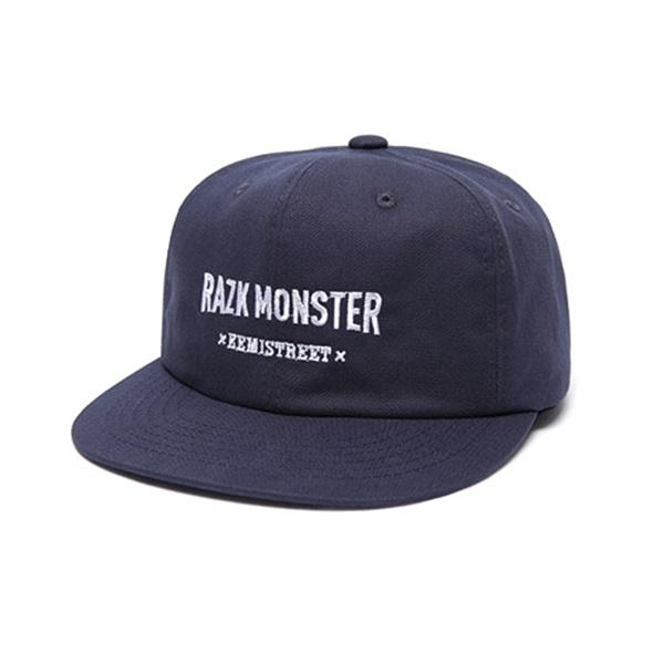 #클리어런스 [라지크] RAZK - RAZK Monster ballcap (NAVY) 볼캡 야구모자 캡모자 패널캡 모자