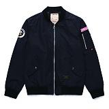 [라지크] RAZK - Kemistreet Collabo MA-1 (BLACK) 항공점퍼 자켓 엠에이원