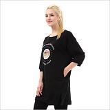 [펄문] PEARLMOON 튜닉 TUNIC-T more beautiful 티셔츠