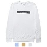 [리오그램] REOGRAMLINE LOGO MTM T-SHIRTS  라인 로고 맨투맨 티셔츠 (Ivory) 크루넥 스��셔츠B6