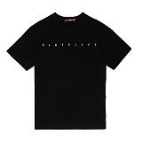 [라지크] RAZK X FLATFITTY - BASIC LOGO T-SHIRT (BLACK) 반팔 반팔티 티셔츠 플랫피티 콜라보