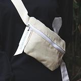 [피스메이커]PIECE MAKER - ALICE CANVAS WAIST BAG (IVORY) 앨리스 캔버스 웨이스트백 힙색