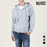 [뉴비스] NUVIIS - 베이직 특양면 무지 후드집업 (SO010HDZ) 후드