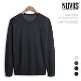 [뉴비스] NUVIIS - 무지 라운드 맨투맨 티셔츠(ZA007MT) 스웨트셔츠 크루넥