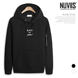 [뉴비스] NUVIIS - 소매지퍼 네오프렌 후드 티셔츠 (RT038HD) 후드티