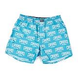 [크룩스앤캐슬]CROOKS Mens Knit Boxers - Core Logo (Scuba/Lt Grey) 코어 로고 반바지