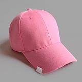 [러쉬오프]RUSH OFF - [UNISEX] TWO STICH  BALL CAP - PINK / 투 스티치 볼캡 -핑크