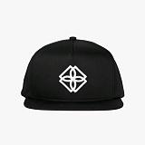 [도프]DOPE Monogram Snapback (Black/White) 스냅백