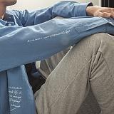 [라지크] RAZK - AWKEN BASIC L.F SHIRTS (BLUE) 셔츠 남방 긴팔셔츠 긴팔남방