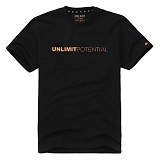 ★단독 상품★ [언리미트]Unlimit - Potential Tee Ver.4 (AF-B010) Black/Yellow 반팔 티셔츠