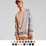 [어커버]ACOVER - Terry Tumble Crewneck Sweatshirts 쭈리 맨투맨 크루넥 스웨트셔츠