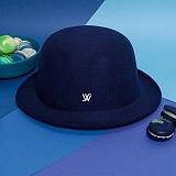 [화이트샌즈]WHITE SANDS -  MACARON HAT Dark Blue WS15-140PD66 마카롱 페도라 햇