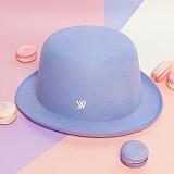 [화이트샌즈]WHITE SANDS -  MACARON HAT Baby Purple WS15-140PL20 마카롱 페도라 햇