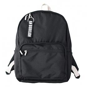 [버빌리안]BUBILIAN - BASIC BACKPACK (Black) 베이직 백팩 블랙_가방 데이백 무지백팩