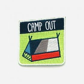 [모쿠요비]MOKUYOBI -IRON-ON PATCHES (CAMP OUT) 와펜
