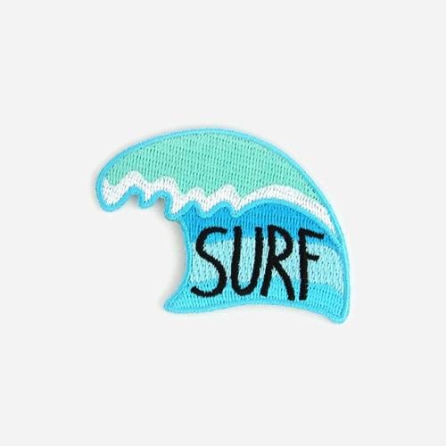 [모쿠요비]MOKUYOBI -IRON-ON PATCHES (PERFECT WAVE) 와펜