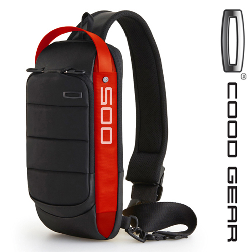 [쿠드기어]COODGEAR - ACE 005 SLING BAG (Red) 슬링백