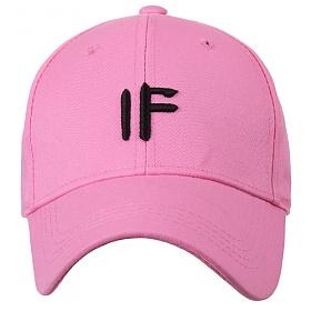 [포레스트레이크]Forest Lake - Letter a rell IF pink 볼캡 야구모자