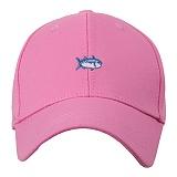 [포레스트레이크]Forest Lake - Letter a rell SMALL FISH pink 볼캡 야구모자