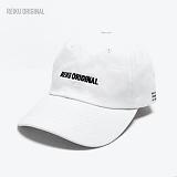 [레이쿠] reiku original typo cap white 볼캡