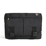 [단독판매] [디에즈] DIEZ - ABSOLUTE MESSENGER BAG #NO.2 / BLACK 메신저백 메신져백 가방 라이딩