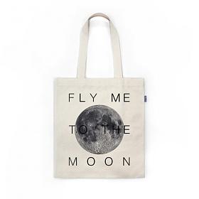 [상상] FLY ME TO THE MOON_IVB 토트 숄더 에코백