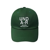 [언더에어] UNDER AIR UND A-R Ball Cap - Green 볼캡 야구모자 그린