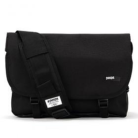 [3종사은품][핍스] essential messenger bag(black) 에센셜 메신저 메신져 메신저백 메신져백 가방