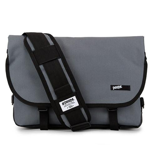 [핍스] PEEPS essential messenger bag(charcoal) 에센셜 메신저 메신져 메신저백 메신져백 가방