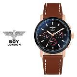 보이런던시계 BLD9105-RGBK(로즈블랙) 남성 가죽손목시계