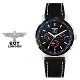 보이런던시계 BLD9105-BK(블랙) 남성 가죽손목시계