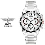 보이런던시계 BLD3215-WH(화이트) 남성 메탈손목시계