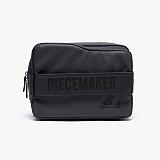 [피스메이커]PIECE MAKER - NEW FOLDER BOX WAIST BAG (CHARCOAL) 뉴폴더 박스 웨이스트백 힙색