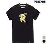 [크루클린] CROOKLYN 퍼피로고 반팔 티셔츠 TRS107 반팔티
