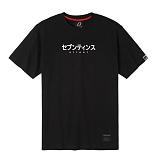 [세븐틴스]SEVENTEENTH - JAPAN FONT TEE - BLACK WHITE 반팔티 티셔츠