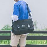 [스타일플랜] STYLEPLAN VIBE MESSENGER BAG (BLACK) 메신저백 메신져백 가방 라이딩 메쉬 망사