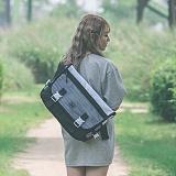 [스타일플랜] STYLEPLAN VIBE MESSENGER BAG (WHITE) 메신저백 메신져백 가방 라이딩 메쉬 망사