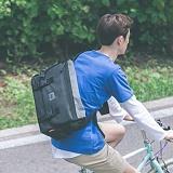 [스타일플랜] STYLEPLAN VIBE MESSENGER BAG (CHARCOAL) 메신저백 메신져백 가방 라이딩 메쉬 망사