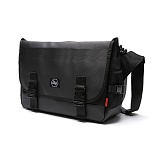 [스타일플랜] STYLEPLAN VIBE MESSENGER BAG (BLACK_R) 메신저백 메신져백 가방 라이딩 가죽 레더