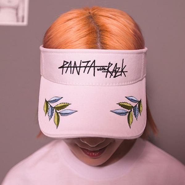 #클리어런스 [라지크] RAZK X PANTA BAY TREE SUN CAP (WHITE) 모자 썬캡 판타 콜라보 여름모자
