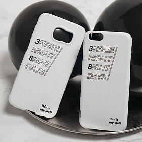 [에이비로드] ABROAD - 3hree 8ight Phone case 아이폰6 아이폰6s 갤럭시 6 핸드폰케이스 휴대폰케이스